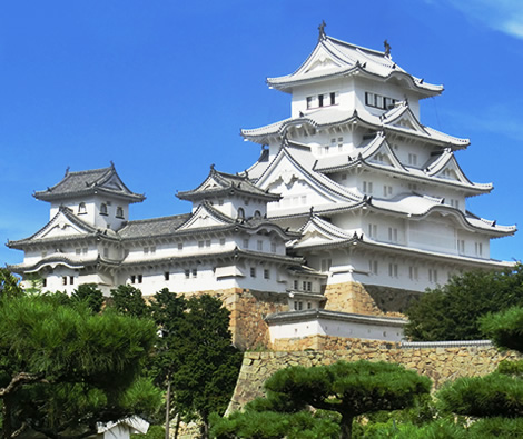 National Treasure Himeji Castle Main Keep Kajima Corporation