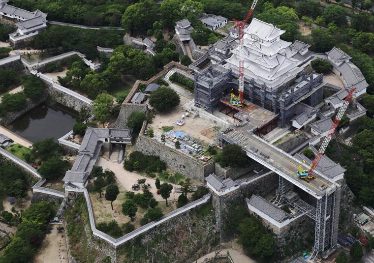 Photo Gallery National Treasure Himeji Castle Main Keep