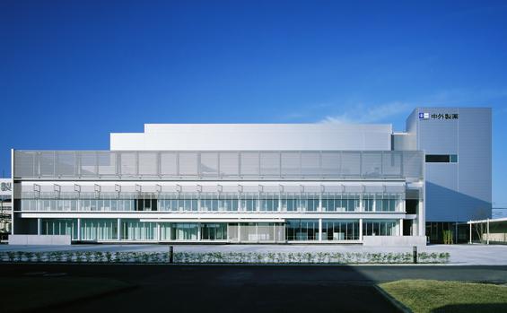 New Solid Dosage Manufacturing Facility Chugai Pharma Manufacturing Fujieda Plant Kajima