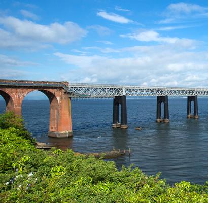 落ちた橋―「テイ橋」