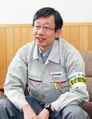 電源開発 大間現地本部 大間原子力建設所 所長代理野口清隆さんの写真