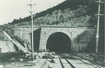 図版:丹那トンネル(静岡県1934年竣工) 丹那トンネル(静岡県1934年竣工) 上椎葉ダム(宮