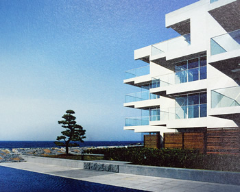 図版:CONDOMINIUM THE HAYAMA